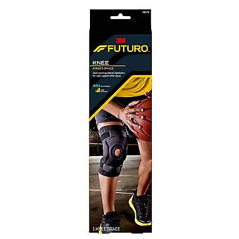 Futuro knee hinged brace, adjustable, firm, 1 ea