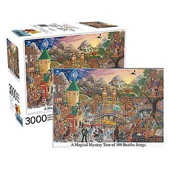 Un magico tour misterioso di 100 canzoni beatles 3000pc puzzle
