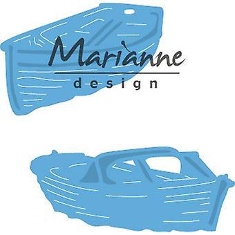Marianne Design Creatables Cutting Dies - Tiny's Boats LR0594 50.5x21 mm