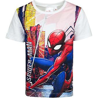 Spider-Man T-paita, Valkoinen