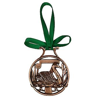 7. Tag der Weihnachten Ornament Kupfer