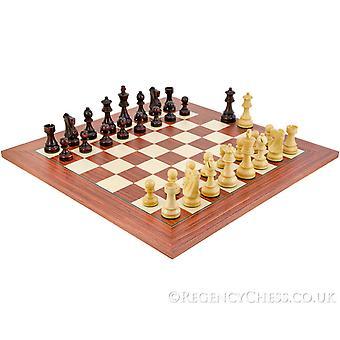 Antiqued British Staunton shakki sarja