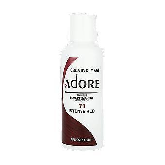 Creative Image Adore Shining Semi-Permanent Hair Color 71 Intense Red 118ml