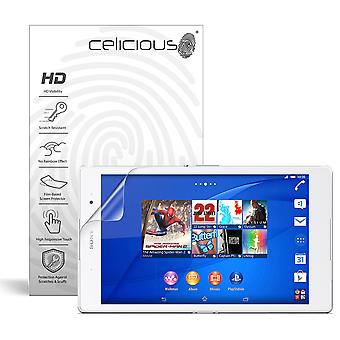 Celicious Vivid Invisible Glossy HD Screen Protector Film Compatible with Sony Xperia Z3 Tablet Compact [Pack of 2]