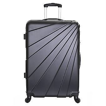 Slimbridge Fusion Large Hard Suitcase, Black