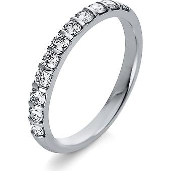 Diamond Ring Ring - 18K 750/- White Gold - 0.51 ct. - 1Q777W854 - Ring width: 54