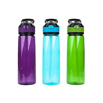 Pursuit 800ml BPA Free Leak Proof Flip Lid Bottle 3 Asstd