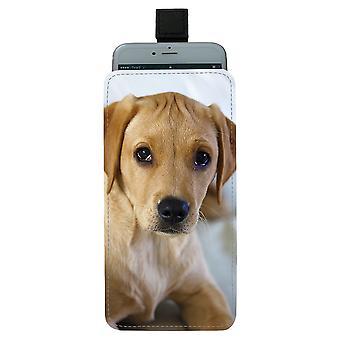 Labrador Puppy Universal Mobile Bag