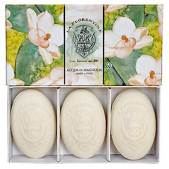 La Florentina Magnolia 150g 3 Bars Soap