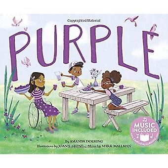 Purple (Sing Your Colors!) by Amanda F Doering - 9781684101320 Book