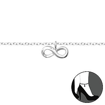 Infinity - 925 Sterling Silver Anklets - W36046x