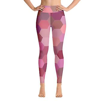 Leggings de treino | Leggings de Yoga | Hexágono