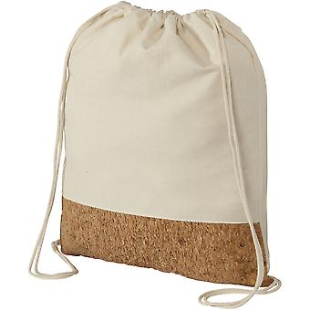 Bullet Cotton And Cork Drawstring Backpack