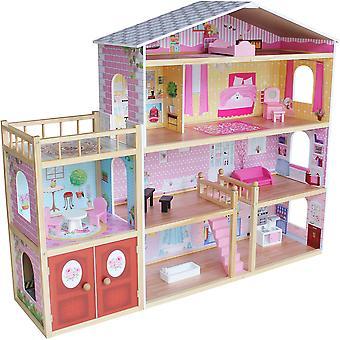 Kiddi Stil riesige moderne Villa Puppen Haus