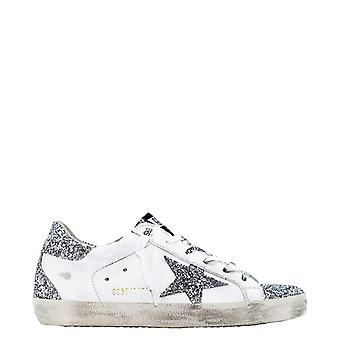 Golden Goose Gwf00102f00014480185 Women's White Leather Sneakers