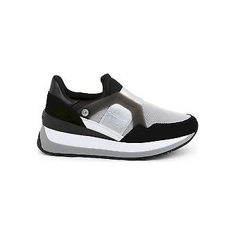 U.S. Polo Assn. - Chaussures - Baskets - YLA4090W9_TS2_BLK - Femmes - noir, argent - UE 36