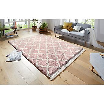 Désir 103327 Pearl Rose Cream Rectangle Rugs Tapis modernes