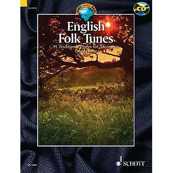 English Folk Tunes for Accordion  88 Traditional Pieces by David Oliver