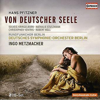 H. Pfitzner - Hans Pfitzner: Von Deutscher Seele [CD] USA import