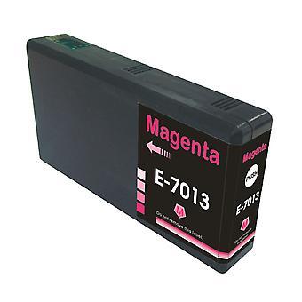 RudyTwos Ersatz für Epson Pyramide Ink Cartridge Magenta(ExtraHighYield) kompatibel mit WorkForce Pro WP-4015, WP-4025, WP-4025DW, WP-4095, WP-4500, WP-4515, WP-4525, WP-4525DNF, WP-4535, WP-4535