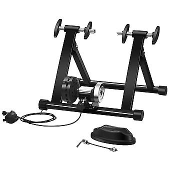 Exercise Bike Trainer Stand Portable Magnetic Turbo Resistance Training 8 Level Indoor