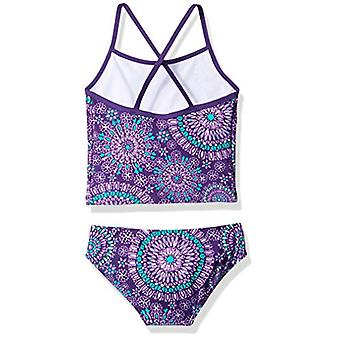 Kanu Surf Little Girls' Melanie Beach Sport 2-Piece Banded Tankini Swimsuit, ...
