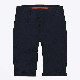 En fisk som heter Fred - Bermuda Jungle Print Shorts - Navy