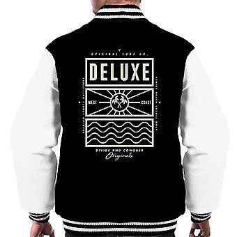 Divide & Conquer Deluxe Surf Co Men's Varsity Jacket
