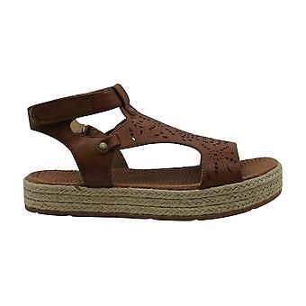 Bare Traps Womens Bernedette Open Toe Casual T-Strap Sandals