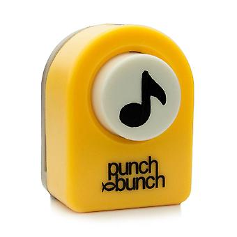 Punch Bunch Small Punch - Music Note