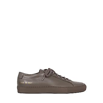 Common Projects 15283810 Men's Grey Leather Sneakers