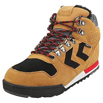 hummel Nordic Roots Forest Mid Mens Casual Boots in Sierra