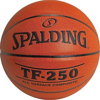 BA415P, Spalding TF150 Rubber Basketball - Junior
