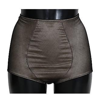 Dolce & Gabbana Bottoms Underwear Beige With Black Net -- BIK2318896
