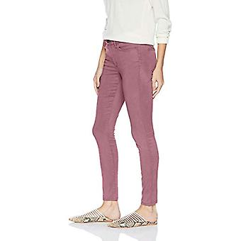Brand - Daily Ritual Women's Sateen 5-Pocket Skinny Pant, rose, 14