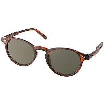 Sunglasses Unisex Cat.3 Brown/Green (19-245)