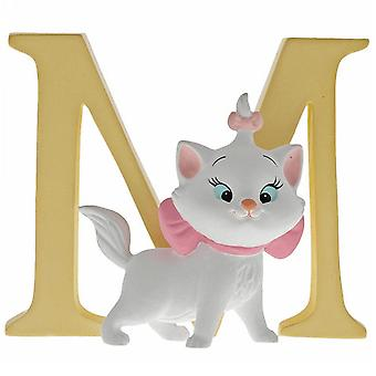 Disney Alphabet Letter M Marie Figurine