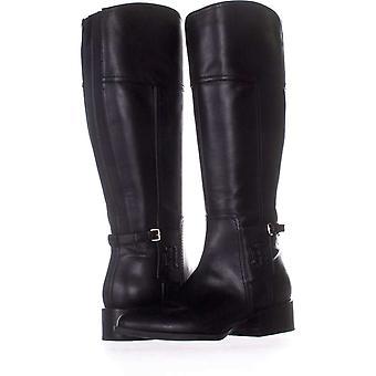 Tommy Hilfiger Womens Merritt Fabric Almond Toe Knee High Riding Boots