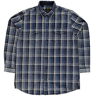 Fusion Trent Plaid Shirt Mens