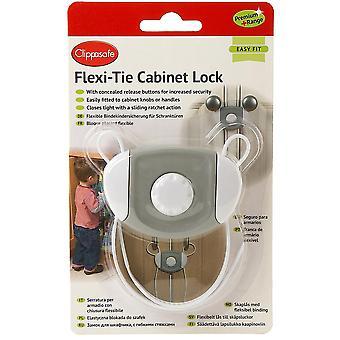 Clippasafe Premium+ Flexi-Tie Cabinet Lock