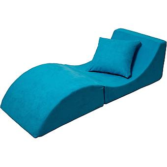 Relax sofa foldable blue