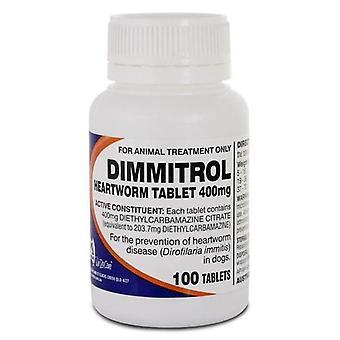 Dimmitrol 400mg Bottle of 100
