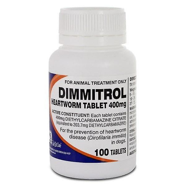 Dimmitrol 400mg Bottle of 100