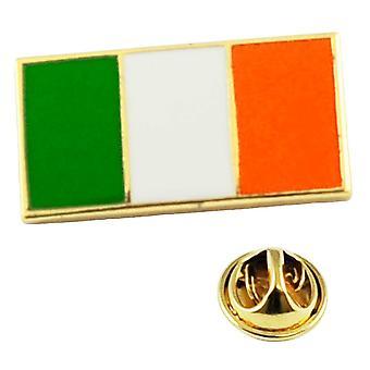 Ties Planet Ireland Drapeau irlandais Porte-couleurs tricolore Badge