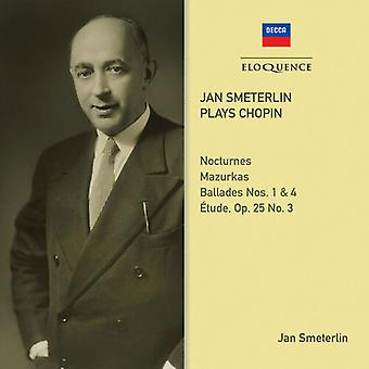 Importación de Jan Smeterlin [CD] EE.UU.