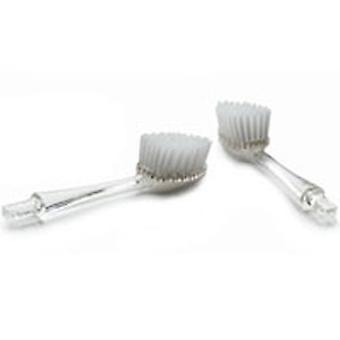 نصف قطر فرشاة الأسنان استبدال رئيس حزمة سوبر لينة، 2 Ct