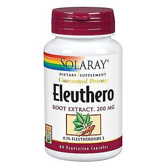 Estratto radice Solaray Eleuthero, 200 mg, 60 tappi