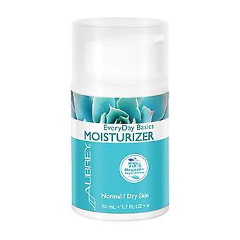 Aubrey Organics Everyday Basics Moisturizer Normal/Dry, 1,7 Oz