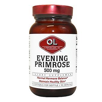 Olympian Labs Evening Primrose Oil, 500 mg, 90 sg