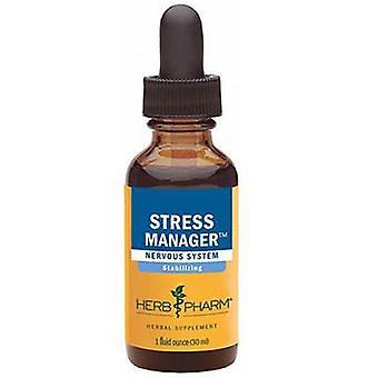 Herb Pharm Stress Manager Compound, 4 Oz